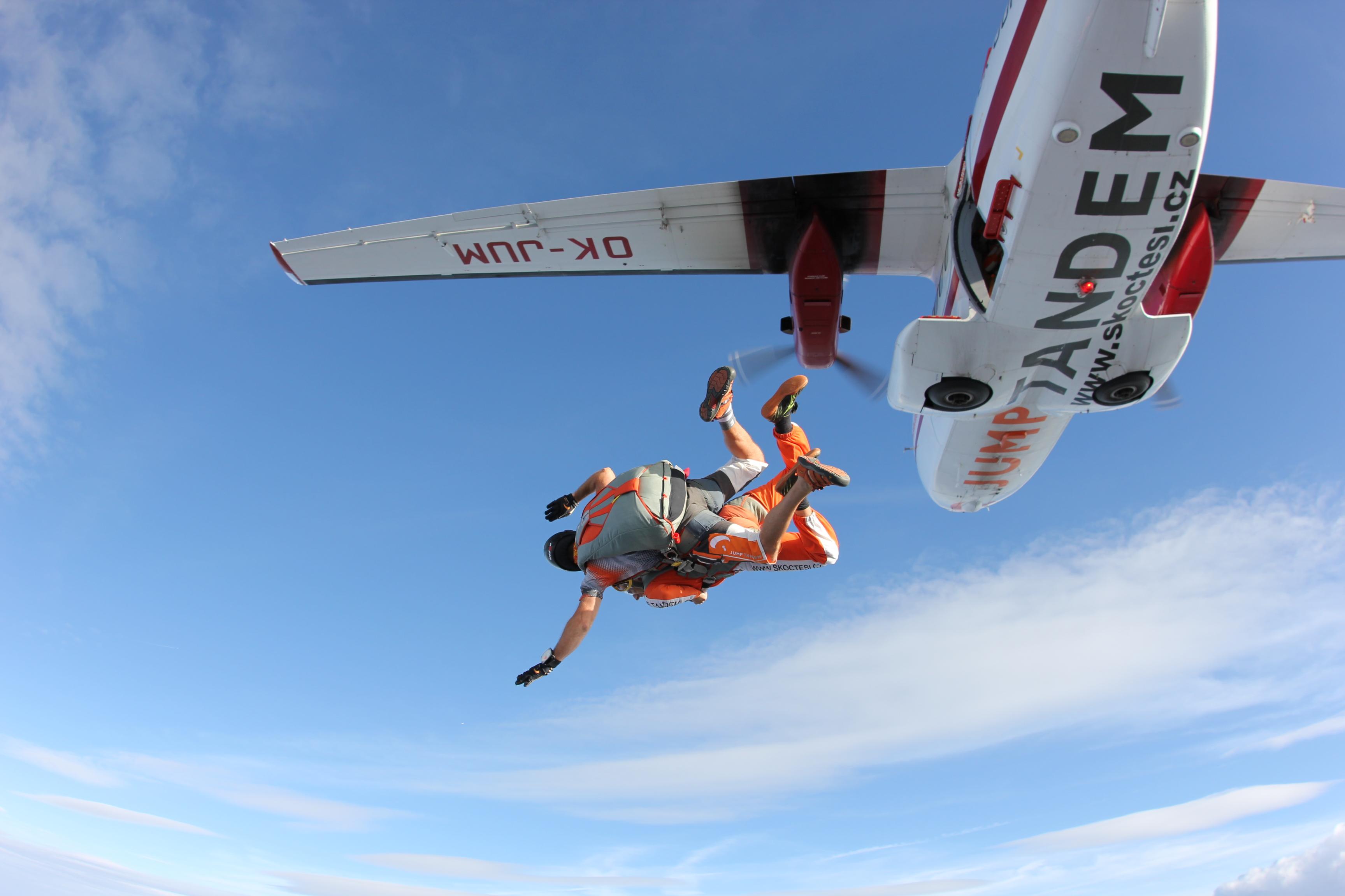 Výskok z letadla